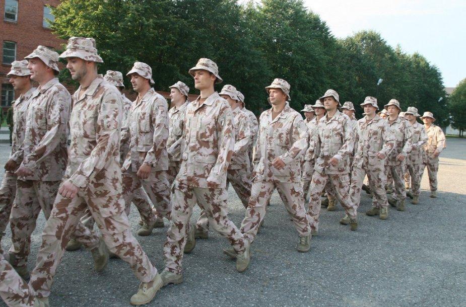 Rezervo karių mokymai