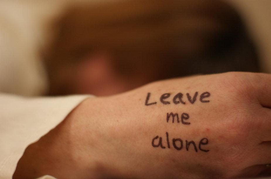 Palikite mane vieną