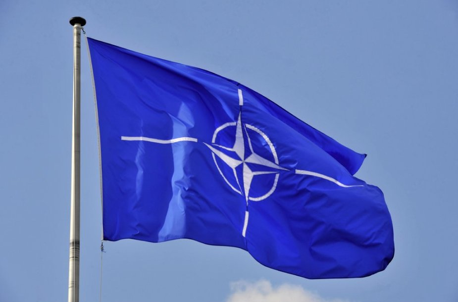 NATO lipp Brüsselis.