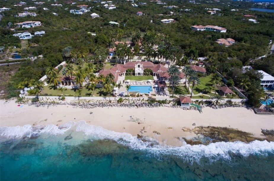 D.Trumpas parduoda namą Šv. Martyno saloje