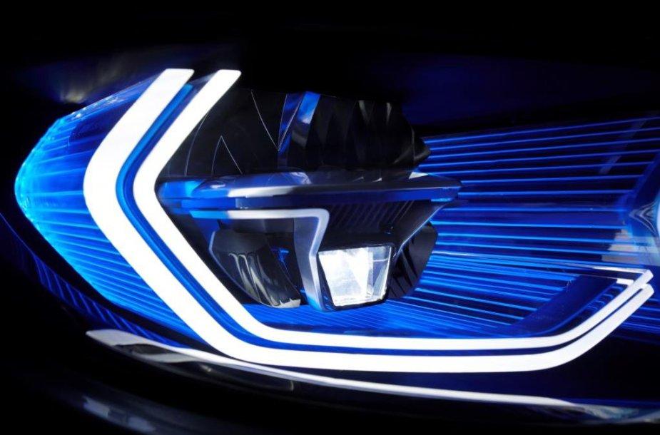 BMW lazeriniai žibintai