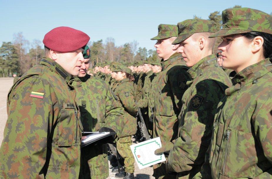 Didžiojo Lietuvos etmono Jonušo Radvilos mokomajame pulke Rukloje prisiekė 112 karių ir karių savanorių