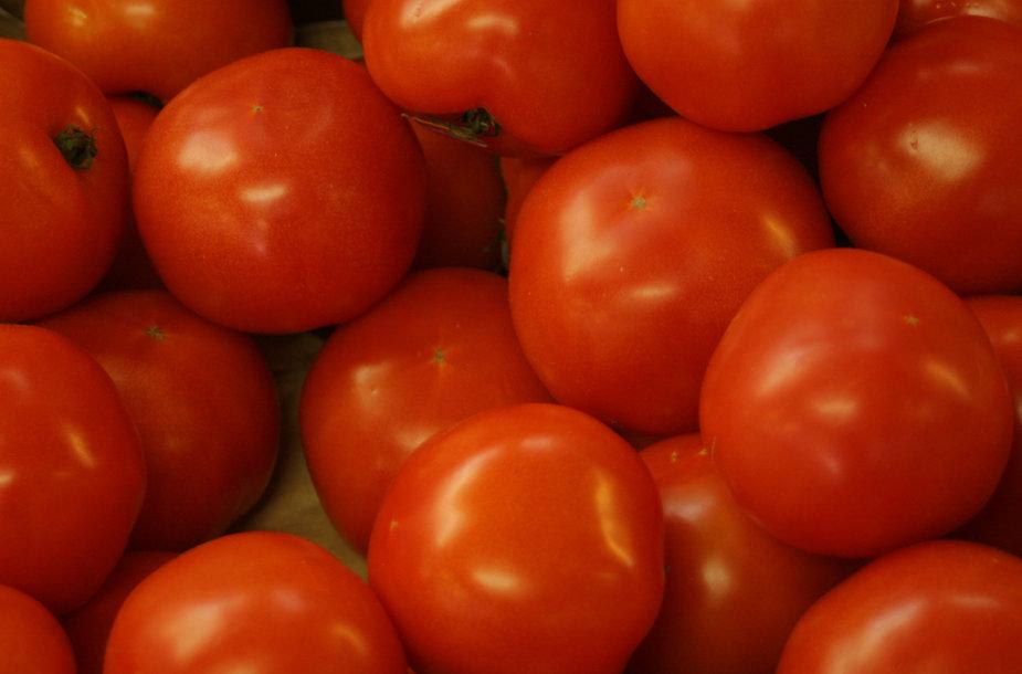 Pomidorai apsaugo ir nuo vėžio