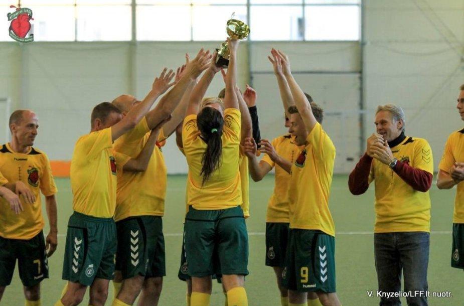 Praėjusį penktadienį surengtas mažojo futbolo turnyras Kauno miesto mero taurei laimėti