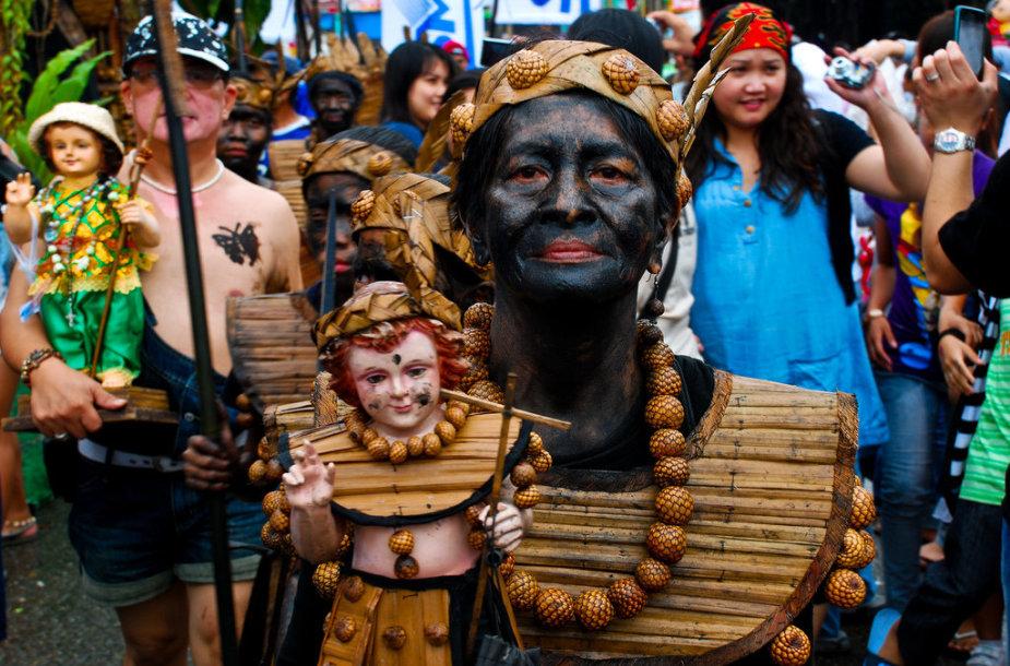 Ati-Atihan festivalis Filipinuose