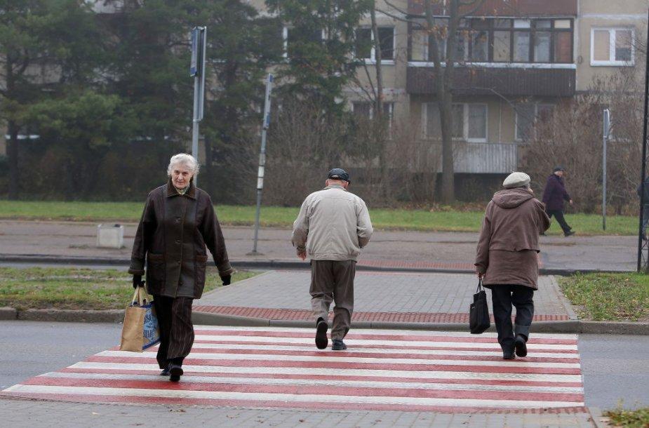 Kaune sutvarkyta viena iš pavojingiausių nereguliuojamų pėsčiųjų perėjų, esanti V. Krėvės prospekto pradžioje