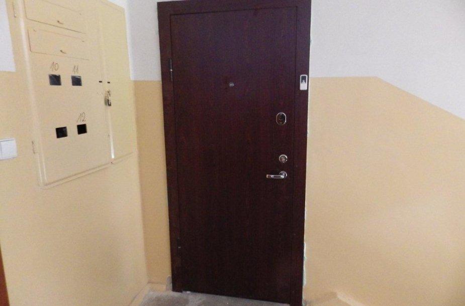 Pakeistos telšiškei priklausančio buto durys