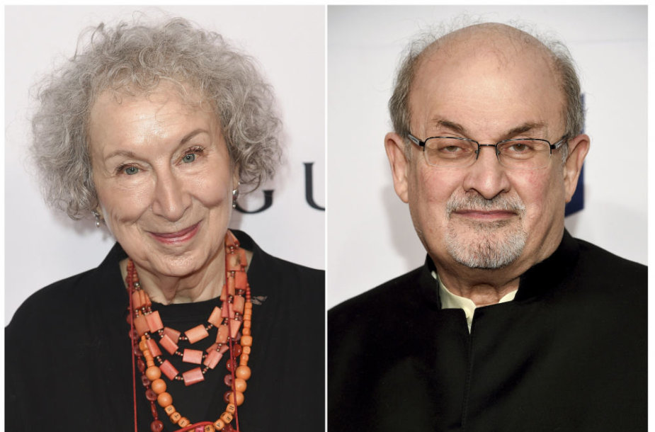 Margaret Atwood ir Salmanas Rushdie