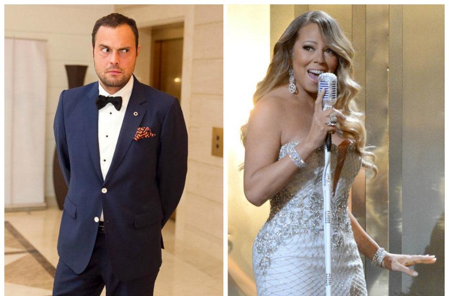 Jogaila Morkūnas ir Mariah Carey
