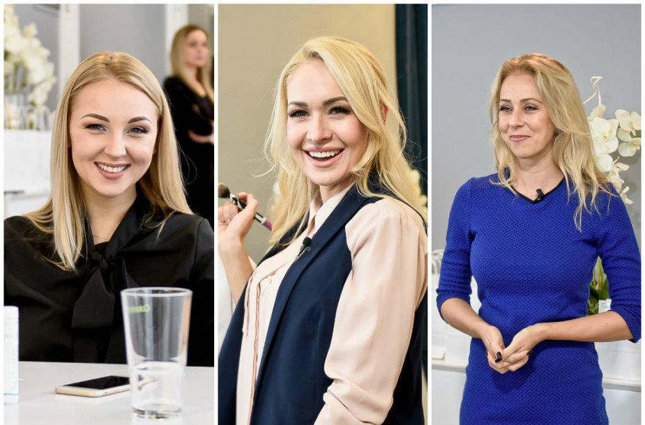 Eglė Straleckaitė-Daugėlė, Oksana Pikul-Jasaitienė, Ineta Stasiulytė