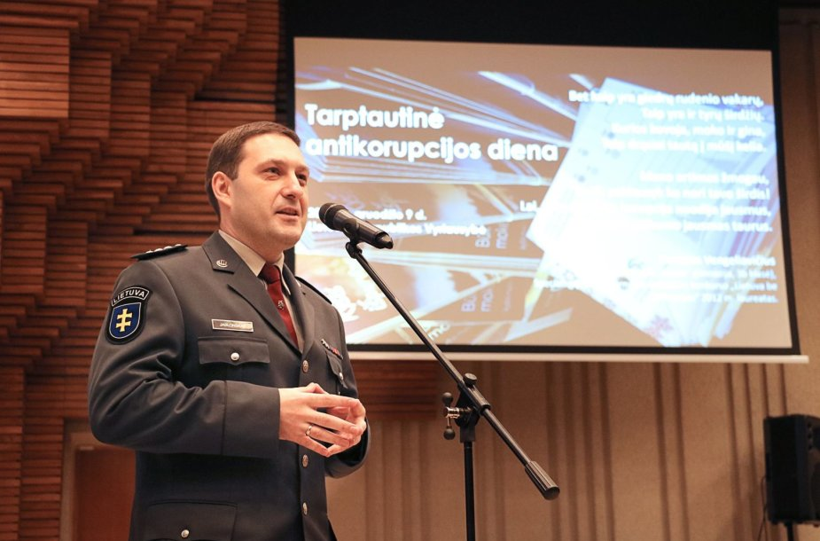 Lietuvos policijos Imuniteto valdybos viršininkas Elanas Jablonskas