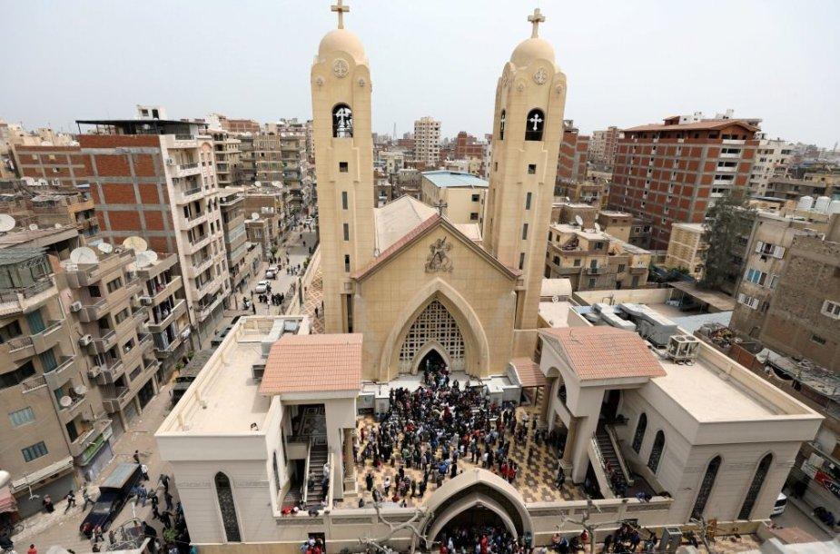Egipto bažnyčiose griaudėjo sprogimai