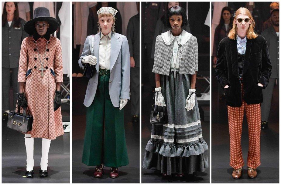 """""""Gucci"""" kolekcijos modeliai"""