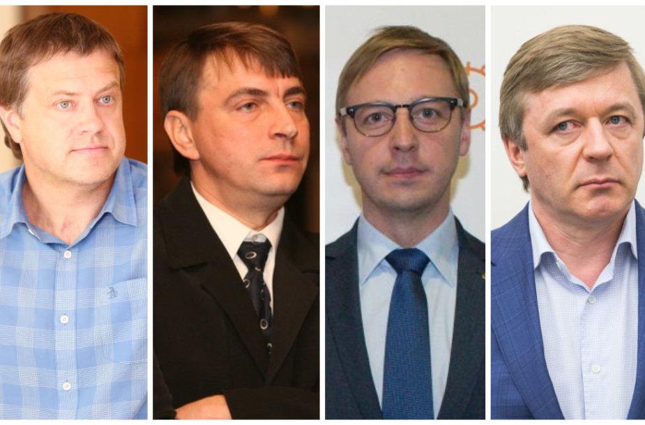Rolandas Skaisgirys, Almantas Vaišnys, Aurimas Žvinys, Ramūnas Karbauskis