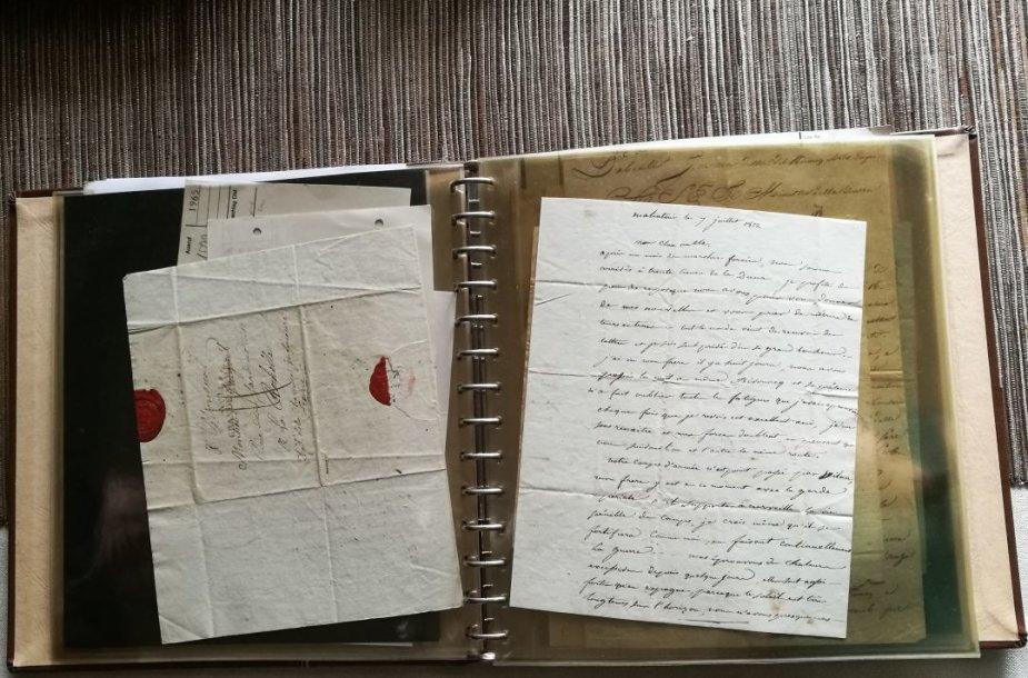 1812 m. Napoleono kariuomenės aukštų pareigūnų ir eilinių laiškai iš dabartinės Lietuvos teritorijos