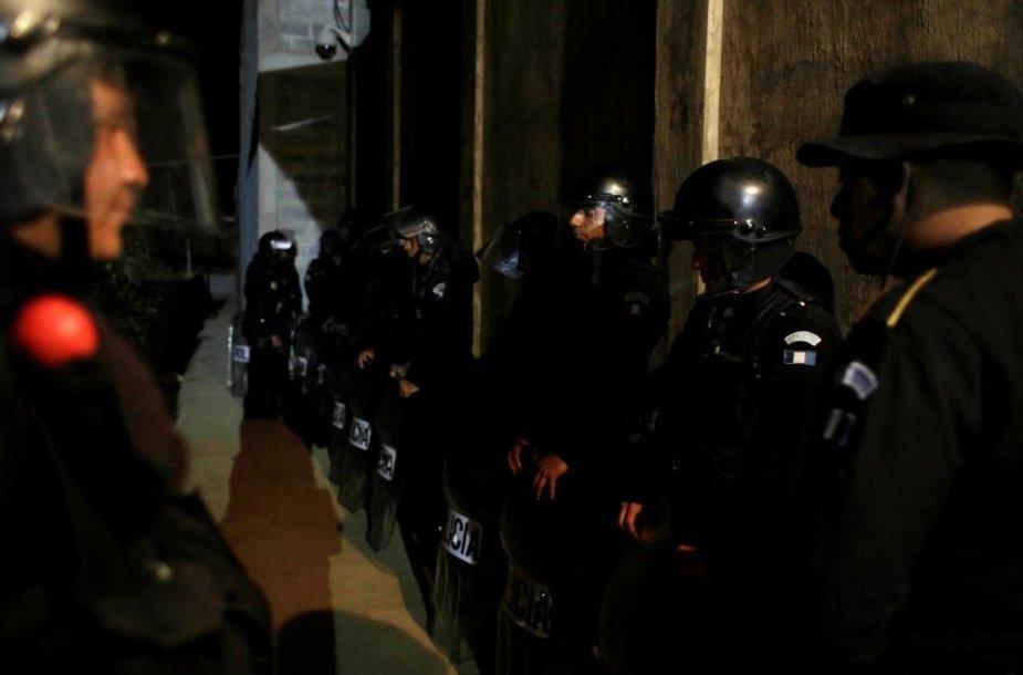 Gvatemalos policija