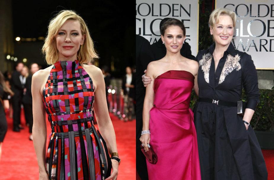 Cate Blanchett, Natalie Portmanir Meryl Streep
