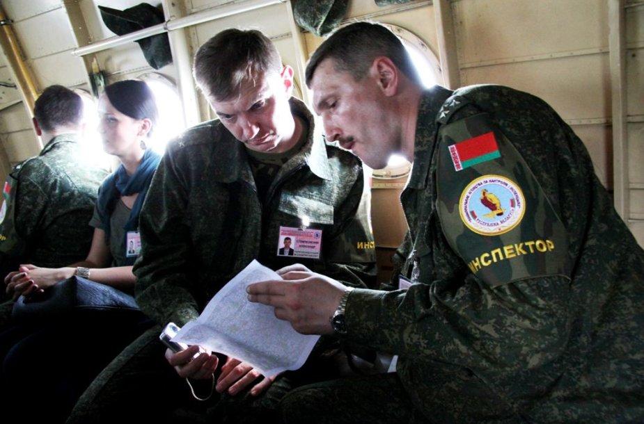 Baltarusijos ginkluotės kontrolės inspektoriai