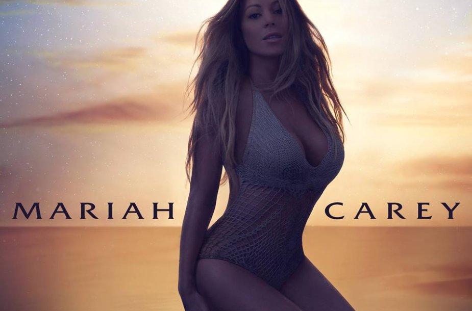 "Mariah Carey singlo ""The Art of Letting Go"" viršelis"