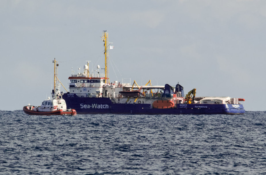 """Gelbėtojų laivas """"Sea Watch 3"""""""