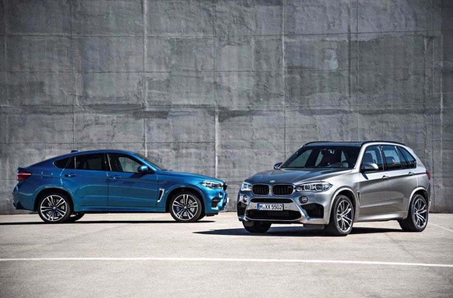 BMW X5 M ir X6 M