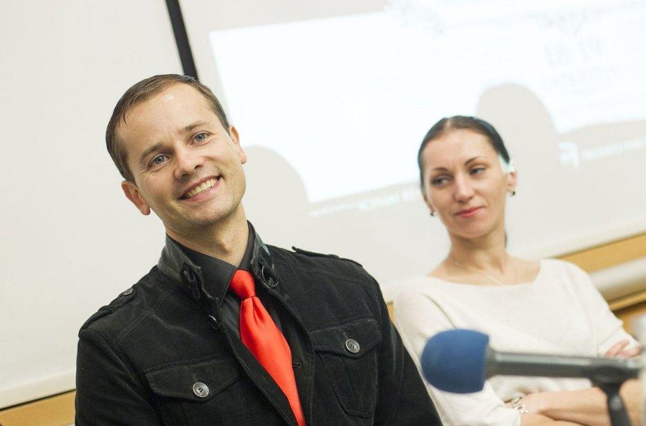Nerijus Juška ir Olga Konošenko