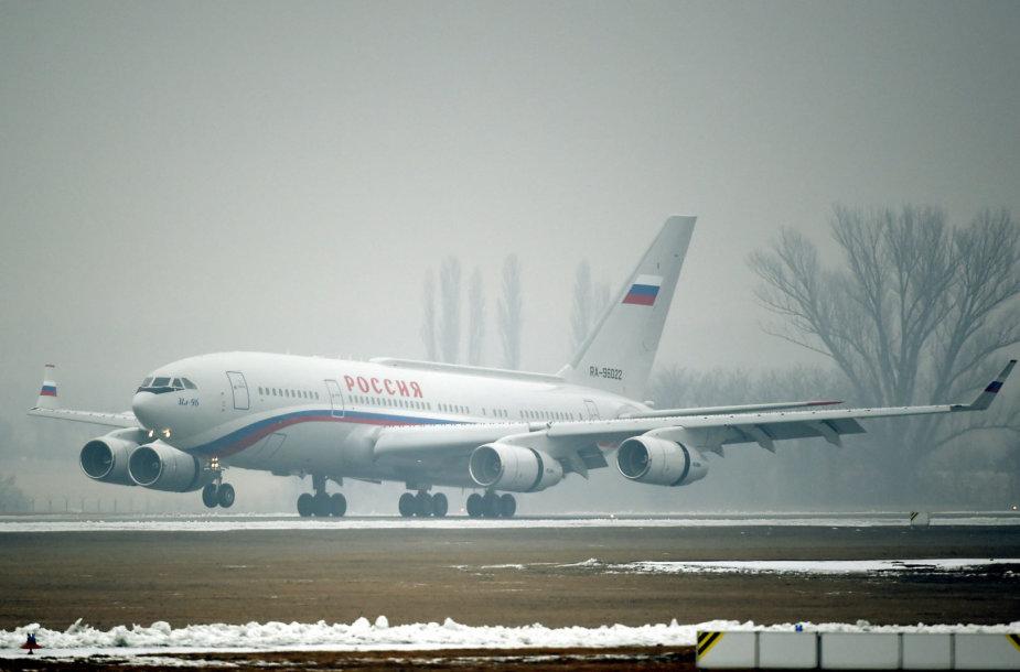Vladimiro Putino lėktuvas