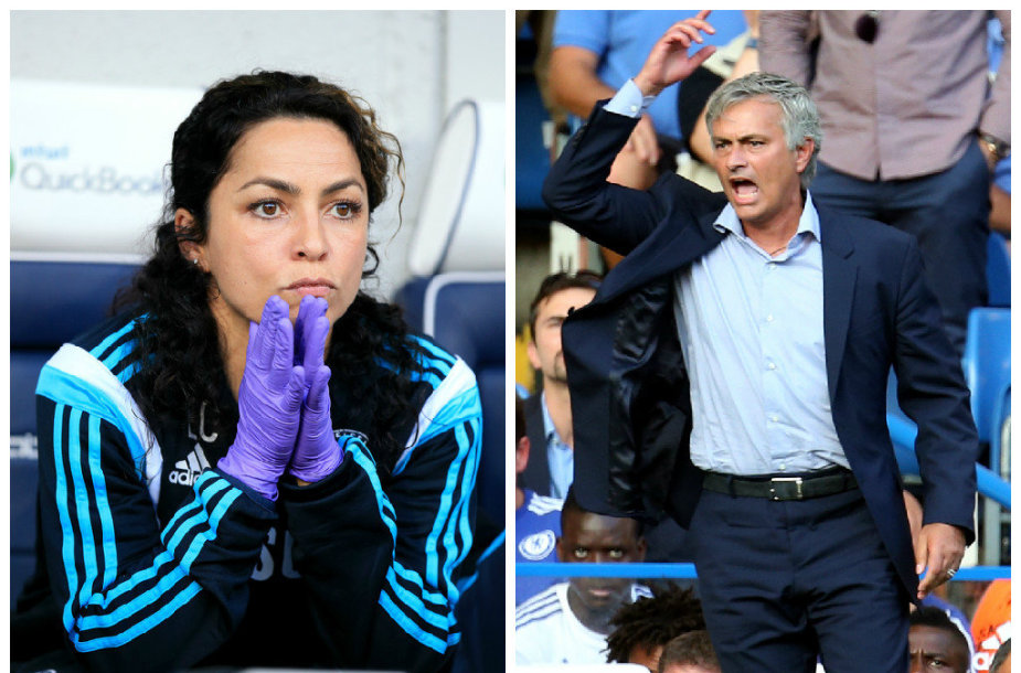 Eva Carneiro ir Jose Mourinho