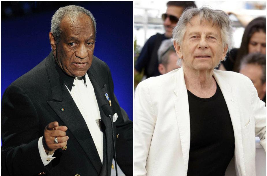Billas Cosby ir Romanas Polanski