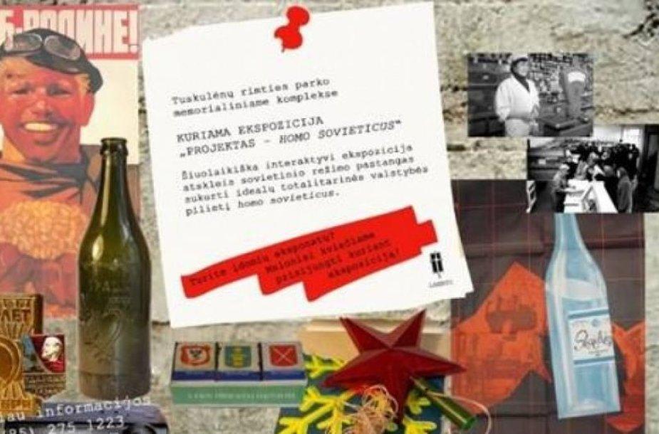 Tuskulėnų rimties parkas prašo pagalbos: ieško sovietmetį menančių daiktų