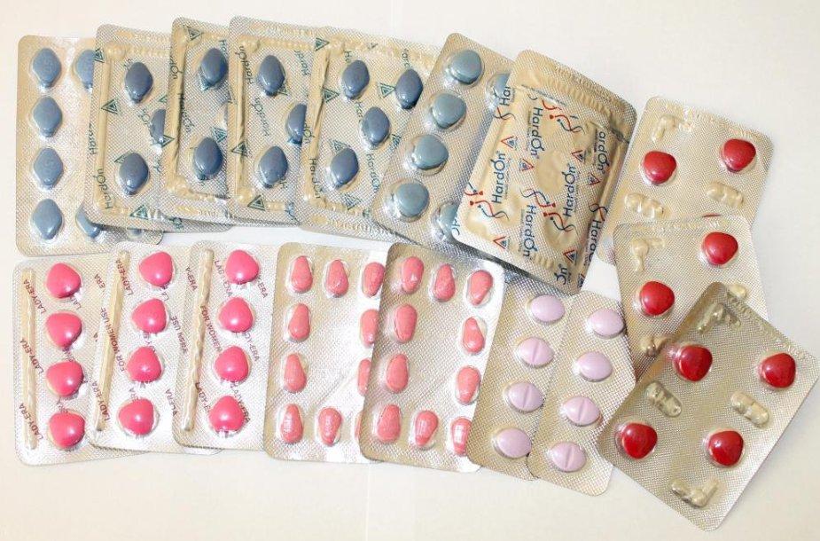 Konfiskuoti vaistai