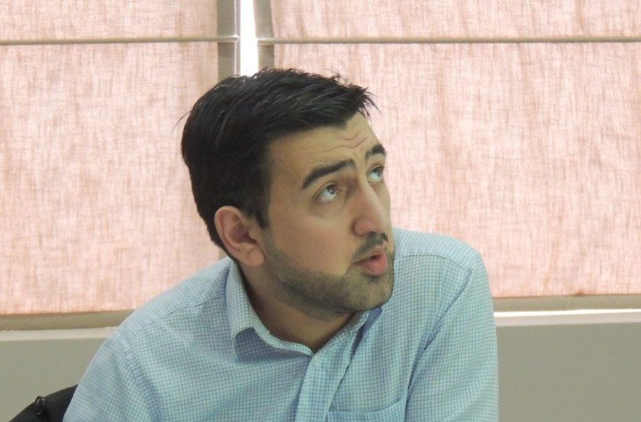 Programavimo instruktorius Giorgi Tsiklauri
