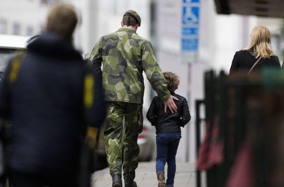 Švedijoje įvykdytas teroro išpuolis
