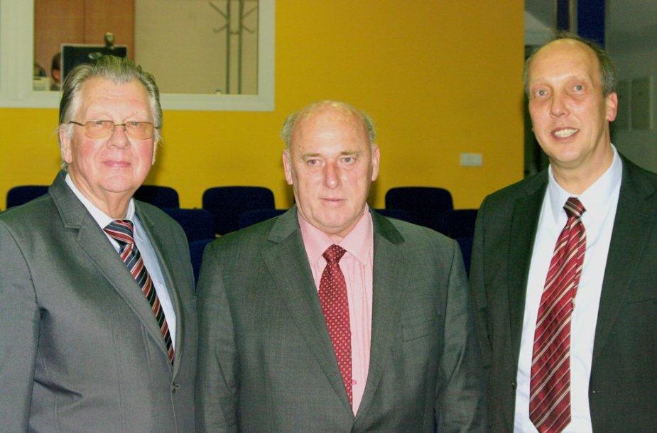PPA Prezidentas dr S.Kernas ir U. Meyeris