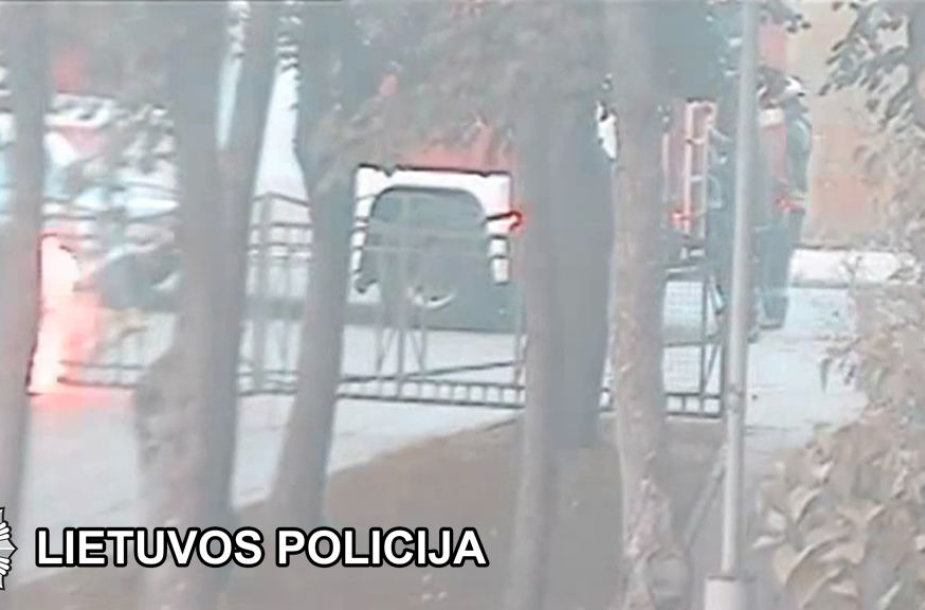 Padegėjai uždegdavo konteinerius, liepsnos apgadino šalia stovėjusius automobilius.
