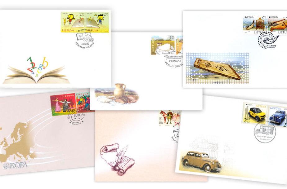Lietuviški pašto ženklai Kinijoje