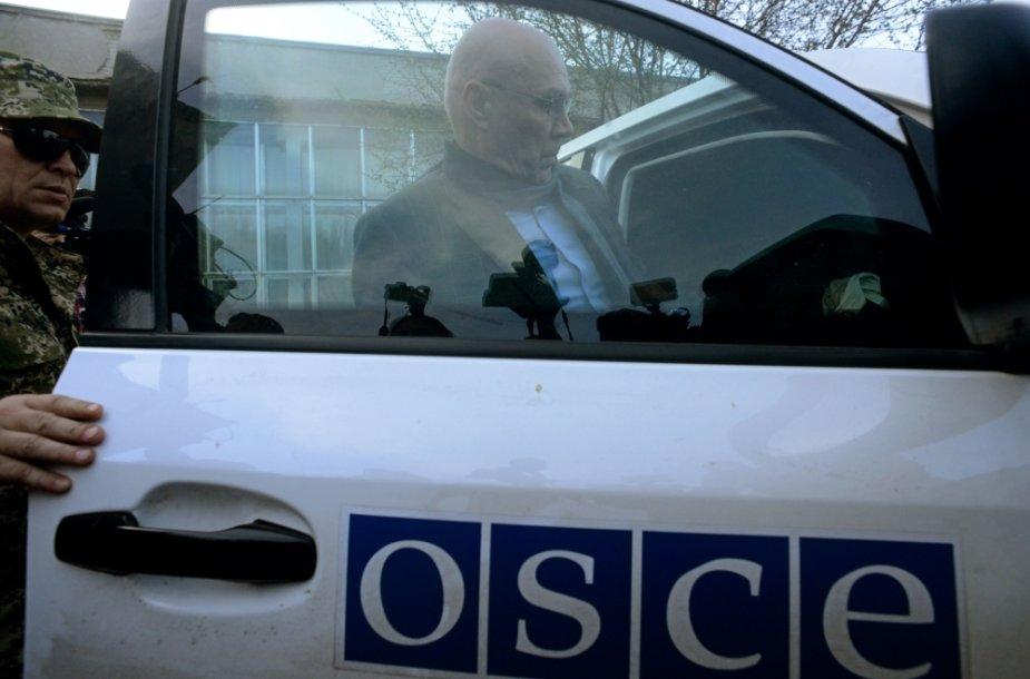 ESBO stebėtojas Ukrainoje