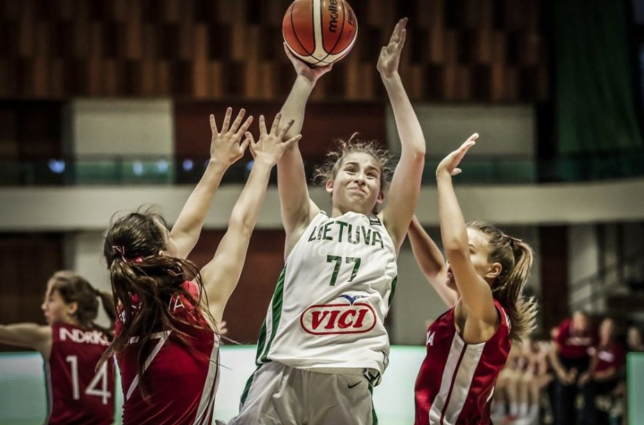 Europos merginų U18 čempionatas: Lietuva – Latvija