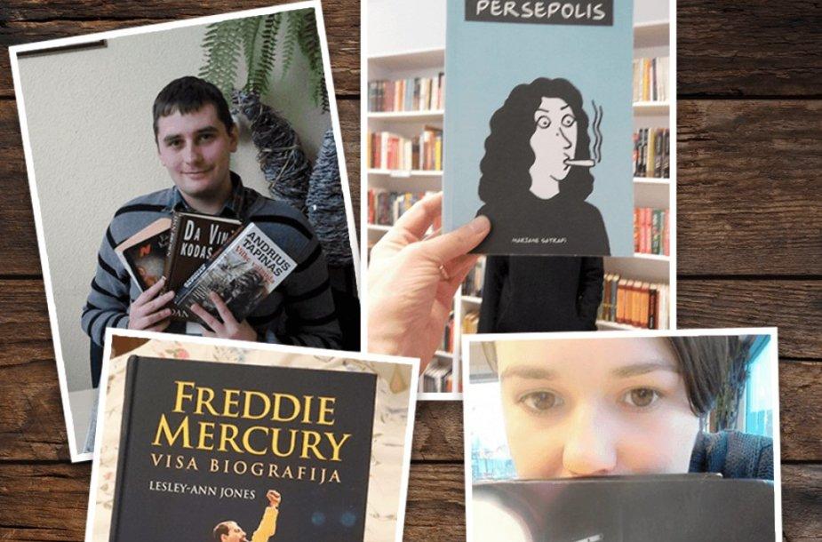 Iniciatyvos #KnygųKalėdos su mylimiausia knyga laimėtojai