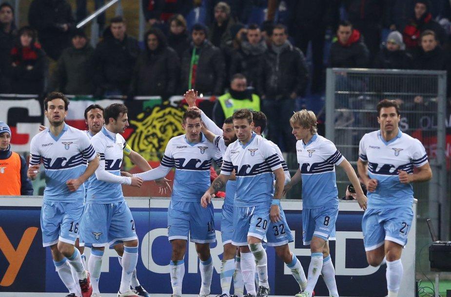 """""""Lazio"""" futbolininkai"""
