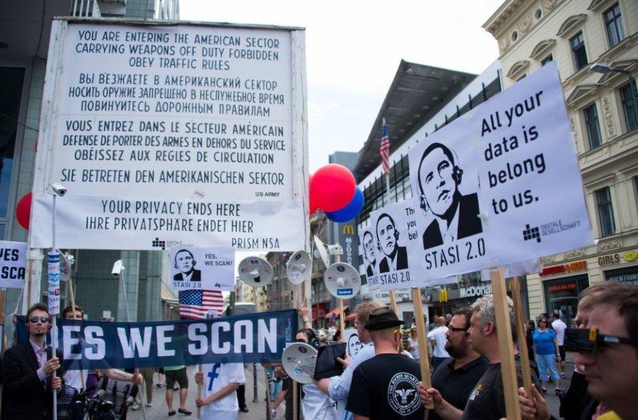 Protestas prieš NSA