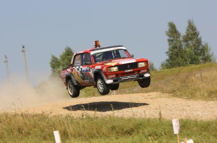 """""""300 Lakes Rally"""" devintasis greičio ruožas"""