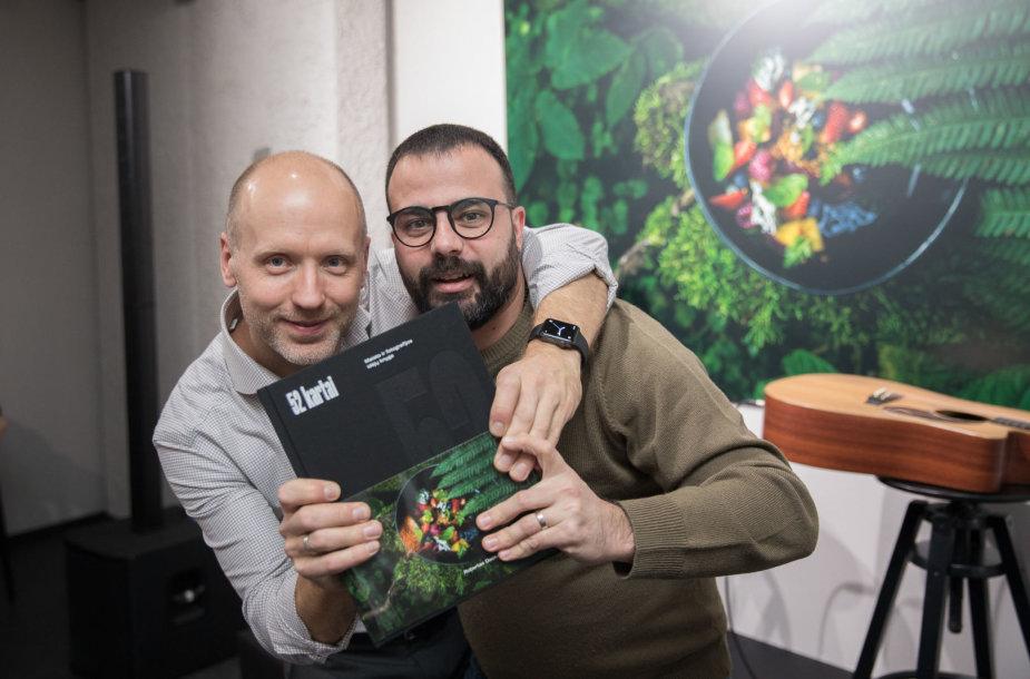Robertas Daskevičius ir Gian Luca Demarco
