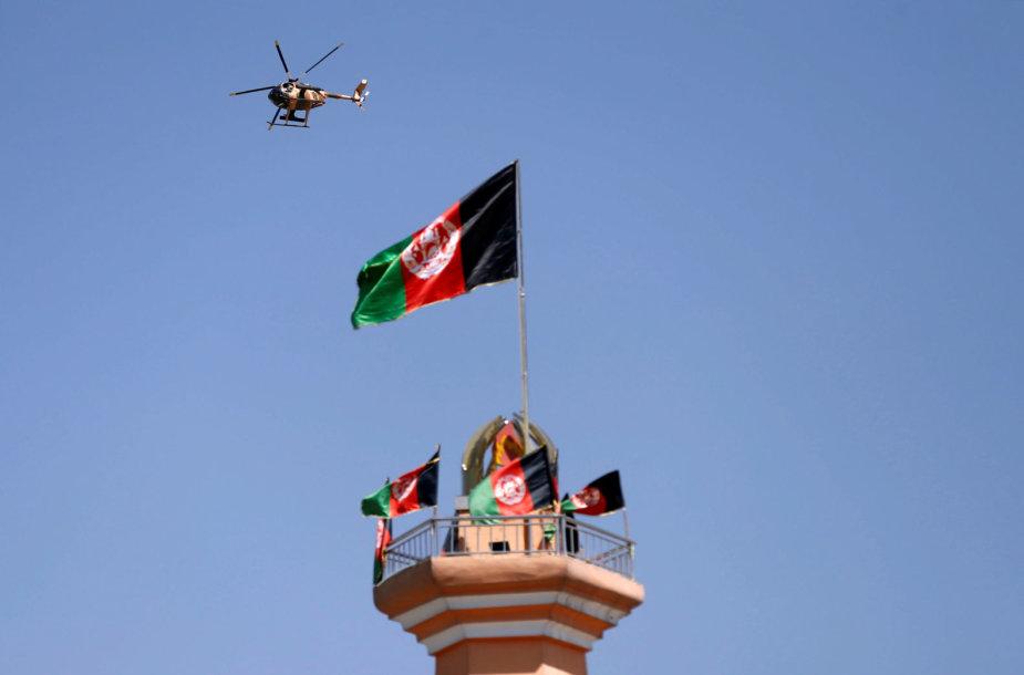 Sraigtasparnis Afganistane