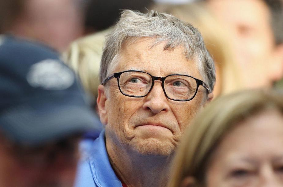 Milijardierius Billas Gatesas