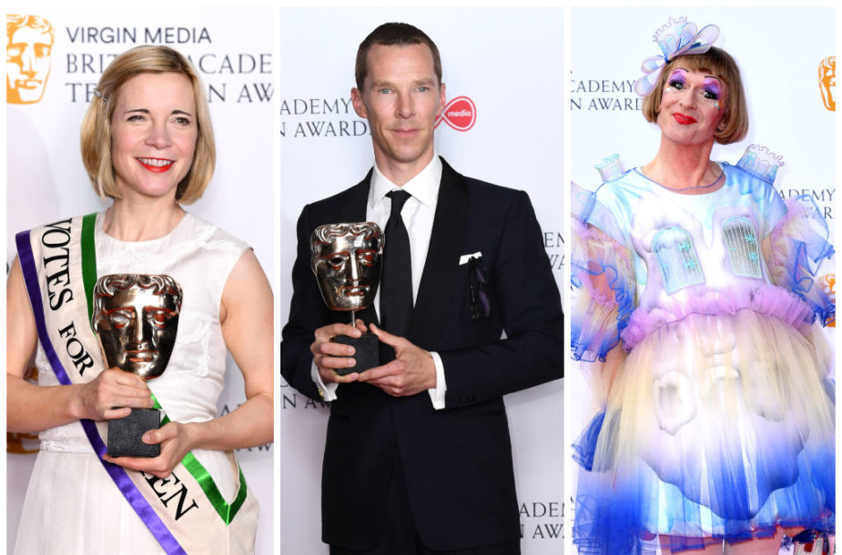 Lucy Worsley, Benedictas Cumberbatchas ir Graysonas Perry