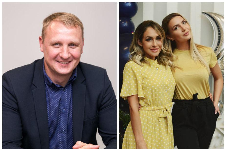 Andrius Šedžius, Oksana Pikul-Jasaitienė ir Monika Šedžiuvienė
