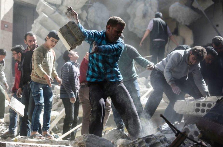 Sirijoje panaudotas cheminis ginklas