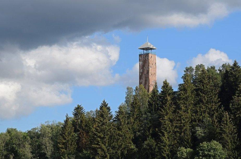 Nemuno kilpų reg. parko apžvalgos bokštas