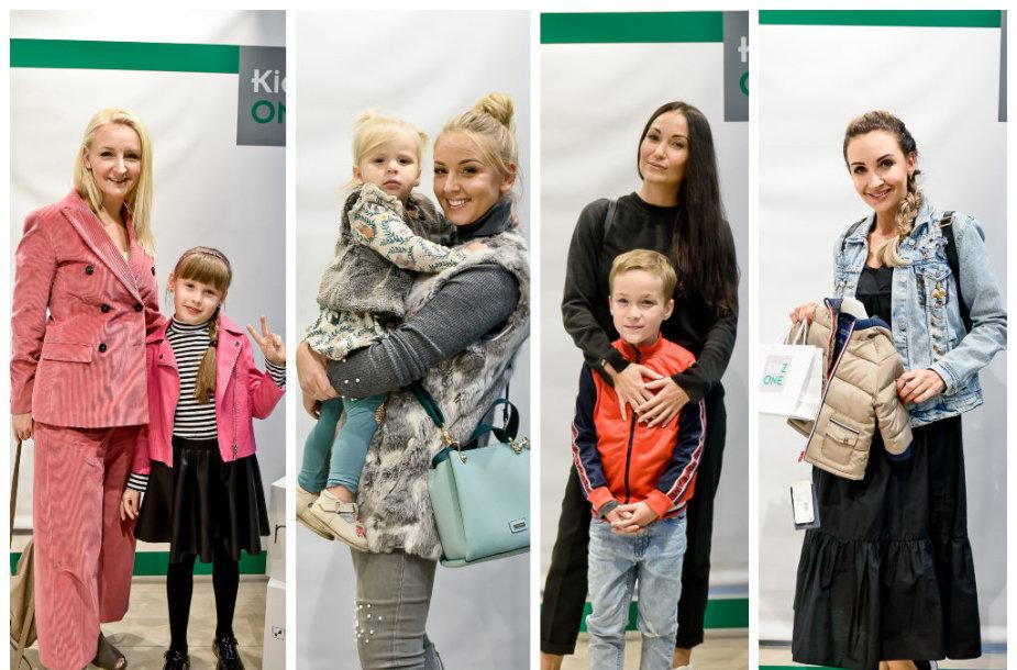 Viktorija Mauručaitė, Eglė Straleckaitė, Karina Krysko-Skambinė su vaikais ir Gerda Žemaitė
